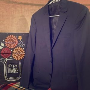 DKNY men's navy blue sports coat